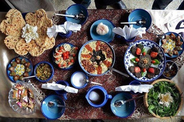 برگزاری جشنواره پخت غذاهای بومی محلی دهاقان