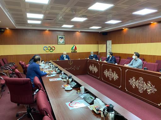 نشست کمیسیون توریسم ورزشی برگزار شد