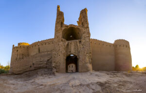 جریان مرمت در قلعه ساسانی شاهدیه