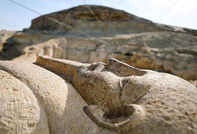 صدها تابوت در مصر مرمت شدند