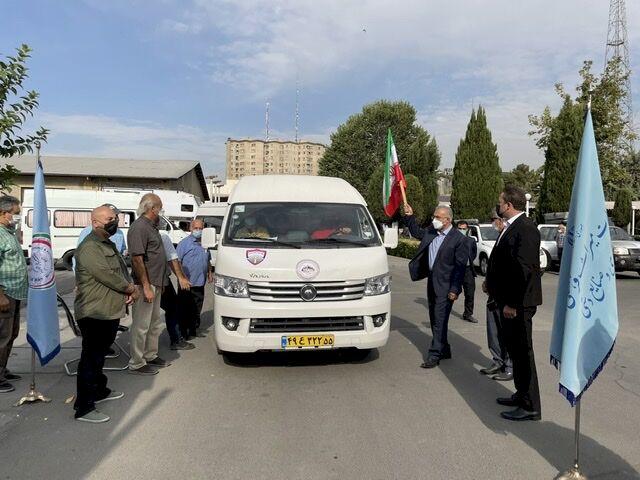 اولین رالی گردشگری کمپرها در ایران آغاز شد
