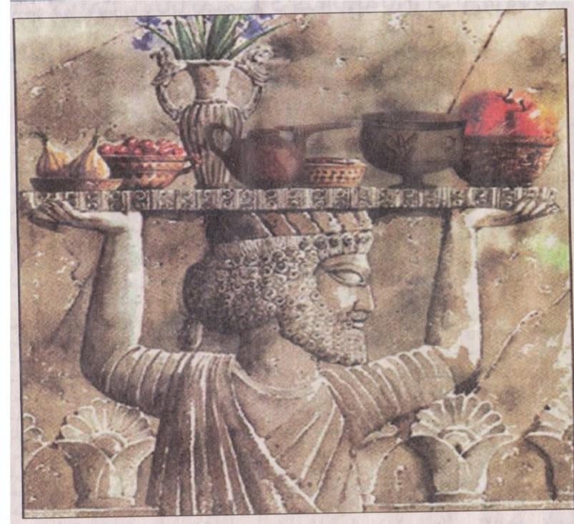 آداب غذا خوردن در ایران باستان