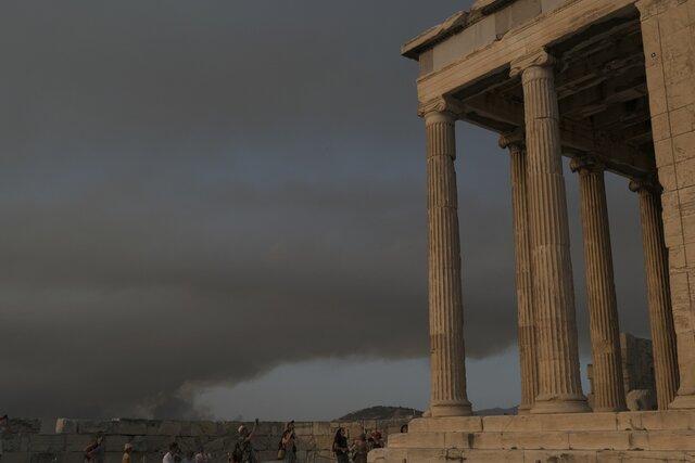 خطر گرما برای مکانهای تاریخی یونان
