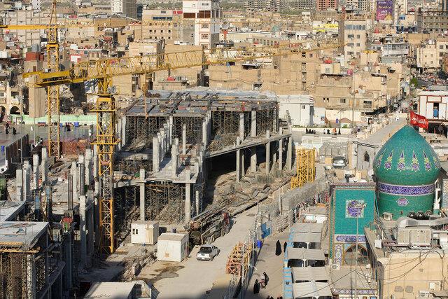 سازه جدید «تل زینبیه» در کربلا
