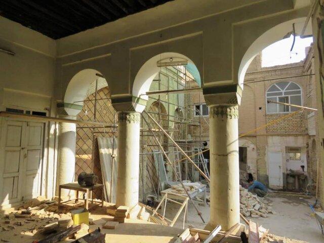 آغاز به کار مرمت خانه تاریخی «زاهدی» شوشتر