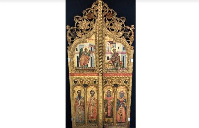 درِ تاریخی کلیسا به قبرس بازگشت