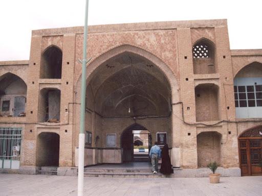 پایان مرمت مسجد سرخ ساوه