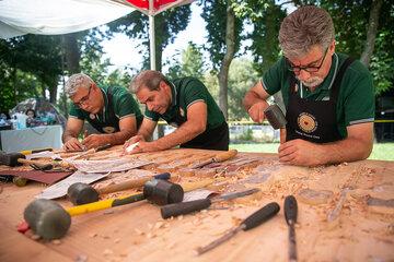 دومین رویداد بینالمللی «چوب» در کرمانشاه آغاز شد