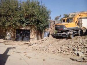 مدرسه تاریخی «ظفر» تخریب شد
