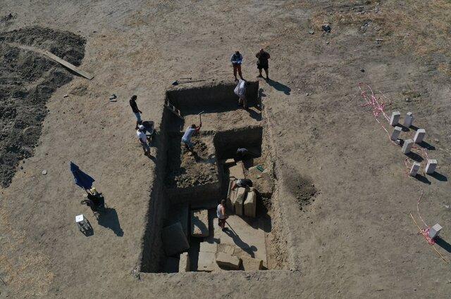 کشف دروازه معبد «زئوس» در ترکیه