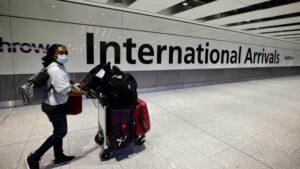 تغییر مقررات سفری انگلستان