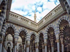 تصاویری از مسجد پیامبر (ص) در مدینه