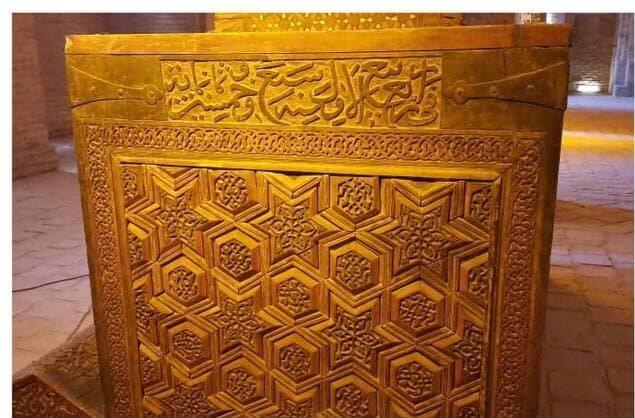 مرمت صندوق نفیس ۵۸۰ساله