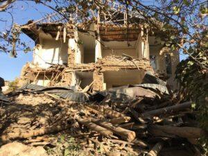 خانه تاریخی دکتر شیری ثبت ملی میشود/ جداره بیرونی و قسمتی از شیروانی ریخته است