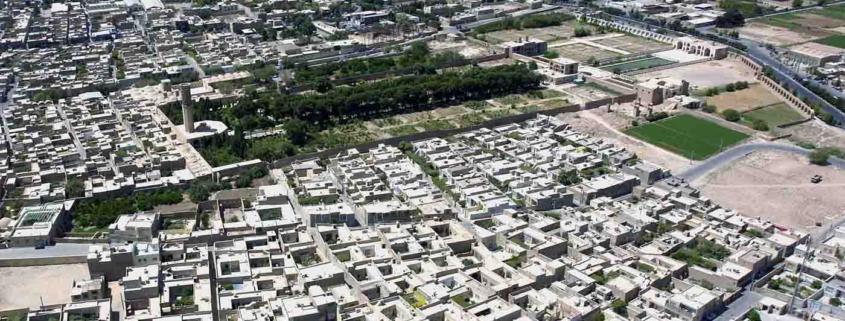 بازدید شهردار و اعضا شورای شهر میراث جهانی از طرح باغ شهر
