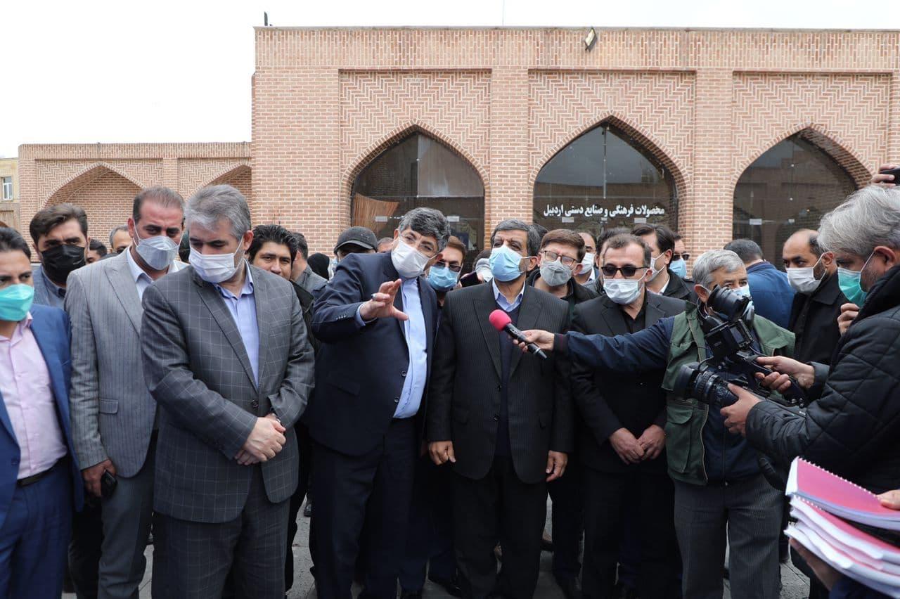 ۳۷ پروژه میراث فرهنگی، صنایع دستی و گردشگری در اردبیل افتتاح شد